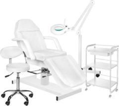 MEGA BEAUTY SHOP® Behandelstoel starter set WIT met GRATIS behandelstoelhoes (3)