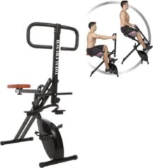 Zwarte Total Crunch Fitnessapparaat Evolution Fitness Device