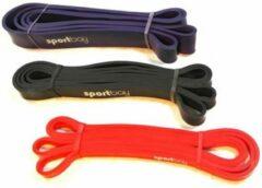 Paarse Sportbay® Power Band voordeelset (13, 21, 32 mm)