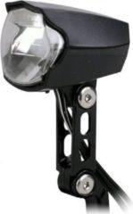 Zwarte Simson Naafdynamo koplamp 'Luminous', 30 LUX, auto/on/off