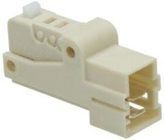 Miele Mikroschalter in Gehäuse, weiß (Deckelschalter) für Waschmaschinen 4240232