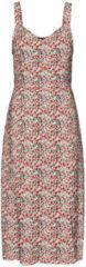 Gebroken-witte Vero Moda Vero Moda Jurk VmSimply Easy Strap Calf Dress WVN 10245164