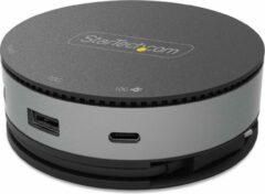 Grijze Startech USB C Multiport Adapter - HDMI/DP/VGA
