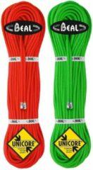 Groene Beal - Gully 7,3 - Half touw maat 50 m groen