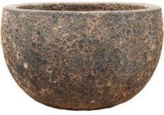 Baq Design Lava Relic Rust metal bowl bloempot 40x24 cm