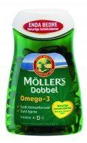 Möller's Omega-3 Mollers Omega-3 Double Visolie - 112 Capsules - Visolie - Voedingssupplement
