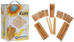 Bruine Schildkröt Fun Sports - Kubb Spel van hout - Zeer populair in Scandinavie