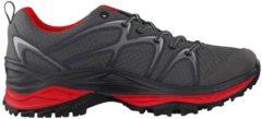 Trekkingschuhe Innox GTX Lo 310601-9930 im sportlichen Design Lowa graphit/rot