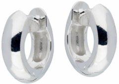 Best Basics Zilveren klapcreolen - ronde buis 5 mm 107.0069.14