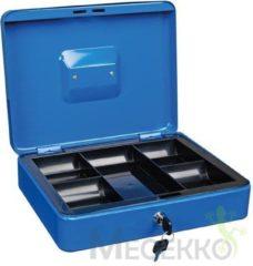 Toolland BG70040 Geldkluis voor biljetten en munten - blauw