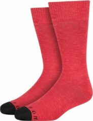 Rode Heroes on Socks Andrew Sokken Deep Red maat 41-46