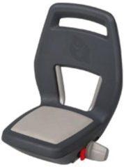 Qibbel Junior fietsstoeltje achter zwart grijs (dragerbevestiging)