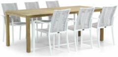 Witte Santika Furniture Santika Annisa/Weston 210 cm dining tuinset 7-delig