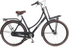 28 Zoll Damen Holland Fahrrad 7 Gang Popal Daily Dutch Prestige... matt-schwarz, 50cm