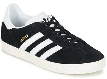 Afbeelding van Zwarte Adidas Gazelle Kids Sneakers - Core Black/Ftwr White/Gold Met. - Maat 35.5
