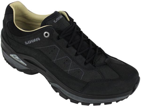 Afbeelding van Zwarte Lowa Strato IV LO wandelschoenen heren zwart