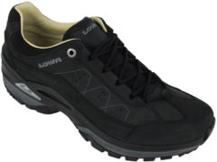 Zwarte Lowa Strato IV LO wandelschoenen heren zwart
