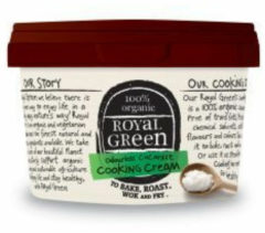 Royal Green Royal groen Kokos Cooking Cream Odourless (500ml)