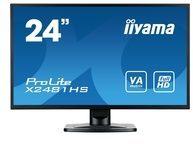 "Iiyama ProLite X2481HS-B1 - LED-Monitor - Full HD (1080p) - 61 cm (24"")"