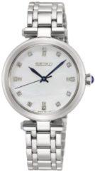 Seiko SRZ529P1 dameshorloge diamant op de wijzerplaat saffierglas 30 mm