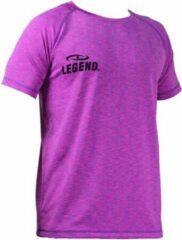 Legend Sports Dryfit Sportshirt Melange Roze Maat Xxs
