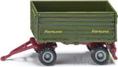 Groene Siku twee as aanhangwagen groen (1075)