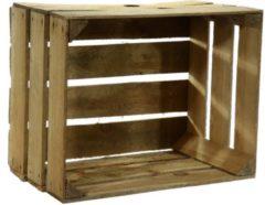 Bruine Gebruikte houten fruitkisten 30 x 40 x 50 cm - Decoratie voor huis en tuin - Opbergen - kisten/kist