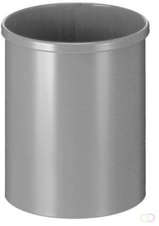 Afbeelding van Afvalbak Rond 15 liter, Aluminium