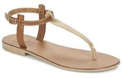 Gouden Sandalen Betty London ESINILE