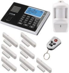 Olympia Protect 9061 Sicherheit Plus Alarmanlage GSM Funk Set 1 x Bewegungsmelder 7 x Tür Fenster/Kontakte und Fernbedienung