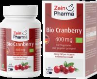 BIO CRANBERRY Vegi Kapseln 400 mg 60 St