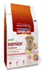Smolke Senior Medium Kip&Lam&Vis - Hondenvoer - 12 kg