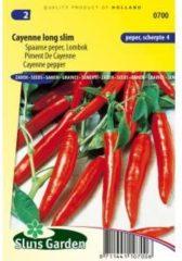 Sluis Garden Spaanse peper zaden - Cayenne long slim