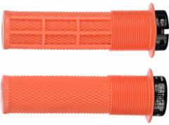 Oranje DMR Brendog DeathGrip handvatten Ø29,8mm, tango