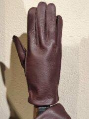 Donkerrode Kessler Fynn Glove Heren Handschoenen Wijnrood Maat 9,5