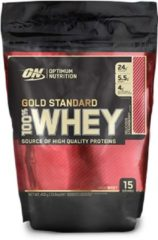Optimum Nutrition GOLD STANDARD 100% WHEY PROTEIN - 450 gram - strawberry.