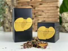 Moments Rose Guarana Revival - losse vruchten thee - rozen dadel smaak - 75 gram - ± 25 kopjes