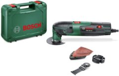 Multifunctioneel gereedschap incl. accessoires, incl. koffer 12-delig 220 W Bosch Home and Garden PMF 220 CE 0603102000