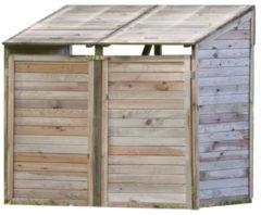 Bruine Merkloos / Sans marque Containerberging geimpregneerd Dubbel (toebehoren in pakket) | Dubbel