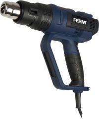 FERM Industrial FERM HAM1017P Heteluchtpistool – 2000W – Incl. 2 mondstukken- Incl. koffer- Incl. standaard- 3m kabellengte
