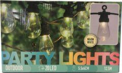 Kaemingk PartyLight LED feestverlichtig - 20 lampjes - 12,5 m lang - Wit licht