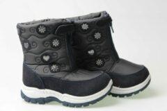Blauwe Merkloos / Sans marque Snowboots Navy- Meisjes-maat 29