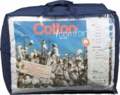 Witte Bestrest Bedden Katoenen dekbed Cotton Comfort - 4-seizoenen dekbed - Antilallergisch - 90 graden wasbaar - 260x220cm