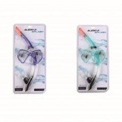 Groene Alert Splash Duikbril met Snorkel Assorti