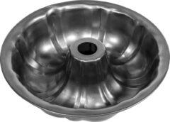 Grijze Krumble Tulband bakvorm / Bakken / Bakvormen / Cake / Cakevormen / Taart / Taartvormen / Tulbandvorm / Tulband - Diameter 24 cm