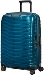Blauwe Samsonite Proxis spinner 69 cm petrol blue