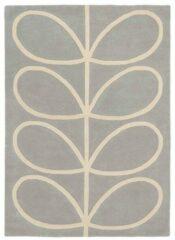 Orla Kiely - Giant Linear Stem 59404 Vloerkleed - 200x280 cm - Rechthoekig - Laagpolig Tapijt - Landelijk, Scandinavisch - Grijs, Wit