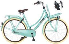 28 Zoll Popal Daily Dutch Basic+ 2800 Damen Holland Fahrrad 3 Gang grün, 57cm