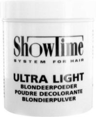 Showtime Ultralight Blondeerpoeder Blauw 200gr