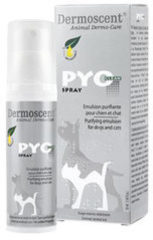 Dermoscent PYOclean Spray voor hond en kat - 50ml